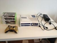 Xbox 360 *Limited edition* R2D2 Star wars! Comes with 10 games and C3P0 controller.