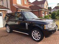 Black Range Rover 2006