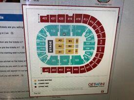 2 x Mariah Carey tickets!