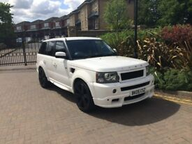 Range Rover Sport 4.4 V8 HSE Project Kahn in White Low Mileage Real Head Turner!