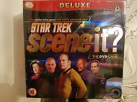 Scene It - star trek deluxe edition - board game