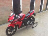 honda cbr 125 fuel injection model