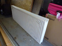double convector radiator, 1600mm x 600mm ex cond BEST OFFER