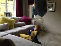 Stokers SITS Large Light Grey Corner Sofa