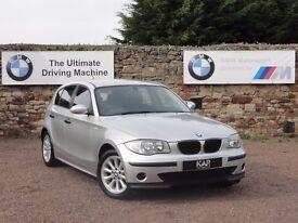 BMW E87 116i ES, 5 Door Hatchback, 122k Miles, FBMWSH, 1 Year MOT, BMW + 1 Owner, 6 Months Warranty