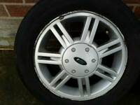 Ford fiesta wheels and tyres