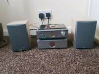 Hitachi AX-M137 Amp,DVD player, DAB radio FM NO remote control