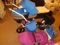 Britax affinity travel system. (immaculate condition)