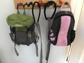 LittleLife Toddler daypack with parent safety strap