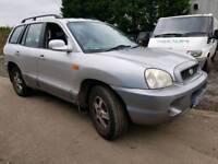 Hyundai santa fe 4x4 2003 2.0 petrol mot jan 2018