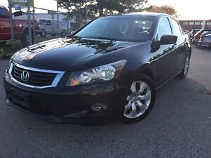 2008 Honda Accord LEATHER,EXL,MAGS,S/ROOF,169KM,safety e/t inclu