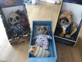 3 Meerkat Baby Oleg Toys