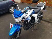 Lexmoto 125cc 16 plate