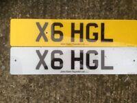 X6 HGL Cherished Number Plate