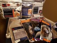 Collection of Dried Astronaut & Camping Food