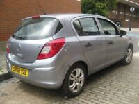 VAUXHALL CORSA 1.2 BREEZE 2008 ---- CHEAP TO TAX RUN AND INSURE ---- 5 DOOR HATCHBACK
