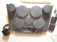 Yamaha digital drum machine DD-50 7 pad