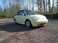 Volkswagen Beetle Convertible.1600cc