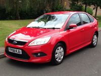 2009 (58 reg) Ford Focus 1.6 TDCi Econetic DPF Diesel, Manual, 5dr Hatchback