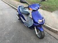 Very fast 50cc moped scooter vespa yamaha gilera peugeot