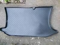Ford Fiesta Mk6 rubber car boot mat.