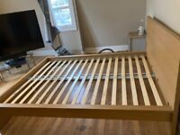 King size bed with 4 Drawers