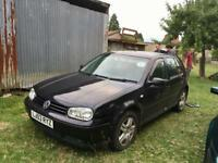 VW Golf MK4 Breaking
