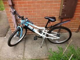 GIRLS BICYCLE HALFORDS OCEANA