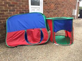 Children's play tents