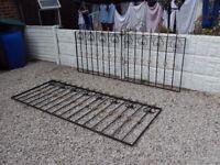 wrought iron railings / metal fencing / garden / patio / decking area / driveway / gates / steel