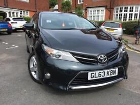 2014 (63 reg) Toyota Auris Automatic 1.6 V Matic Sports. Low Mileage.