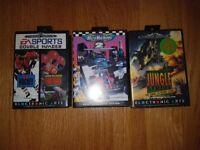 Sega Mega Drive Console & 4 Games
