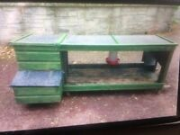 2 x large chicken coops with run