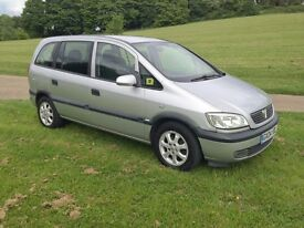 VAUXHALL ZAFIRA 2.0 DTI AUTOMATIC, LONG MOT, VERY GOOD DRIVE,IN AND OUT VERY GOOD CONDITION