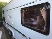 Elddis Avante 630FB 6 berth twin axle caravan with new air awning and extras