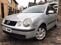Volkswagen Polo 1.4 SE 5dr p/x welcome **FULL S/H**6 MONTHS WARRANTY* 2003 (52 reg), Hatchback
