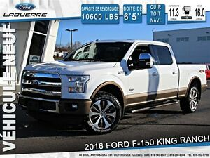 2016 Ford F-150 **KING RANCH*FULL*175$/SEM**