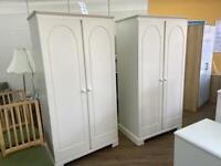 White Wardrobes - Priced Individually