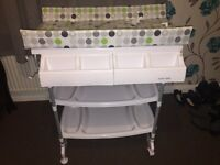 Baby bath/changing table
