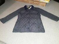 Ladies Barbour Jacket navy size 12