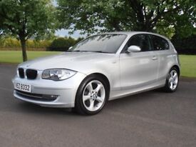 2008 BMW 118D 140BHP SPORT, F-S-H, JUST SERVICED, FULL MOT, £30 TAX, IMMACULATE CONDITION