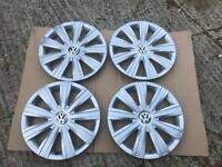 Wheel trims VW Polo Golf Jetta Up Part No PA66 MD15 15 inch