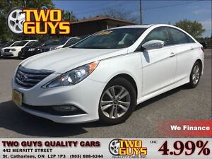 2014 Hyundai Sonata GLS SUNROOF ALLOYS HTD SEATS BACKUP CAMERA