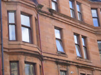 Pretty one bed furnished flat in Scotstoun, near Dumbarton Road