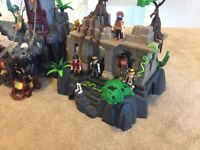 Playmobil Castles and temple