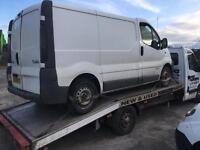 Renault Trafic van breaking for parts