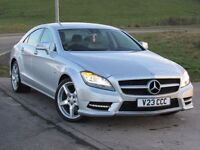 MERCEDES-BENZ CLS CLASS CLS350 CDI SPORT AMG 4d AUTO 265 BHP 6 Month RAC Parts & Labour Warranty