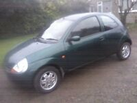 FORD KA 1-3 STYLE 2002 (51 PLATE) 73,000 MILES, VERY CLEAN AND TIDY, EXCELLENT RUNNER ANY TRIAL