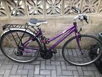 Dawes ladies stunning hybrid road / city bike 21 speed