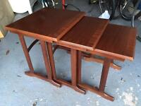 G Plan Mahogany Nest of Tables (Coffee Table)